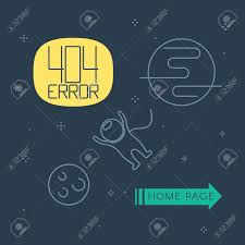 free homepage for website design 404 error page template for website space landscape with