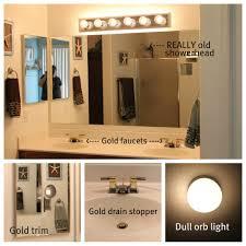Update Bathroom Vanity How To Update Bathroom Vanity Lights Image Bathroom 2017