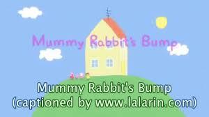 Peppa Pig Cuckoo Clock Peppa Pig Mummy Rabbit U0027s Bump With Subtitles Video Dailymotion