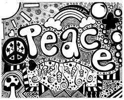 free coloring page coloring doodle art doodling 6 peaceful doodle