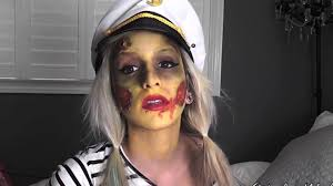 Halloween Costumes Sailor Woman Zombie Sailor Halloween Tutorial Easy