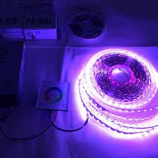 dc24v led light reel 65 6ft 20m color change rgb