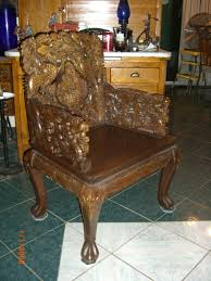 Oriental Chairs Carved Antique Oriental Dining Table 8 Chairs W Dragons W