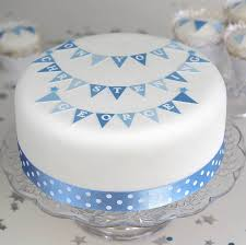 christening cake ideas boys christening cake decorating kit with bunting by clever