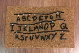 Holiday Doormat The Stranger Things Doormat You Need For The Holidays Cool Mom Picks