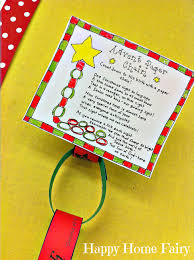 advent paper chain countdown free printable happy home fairy