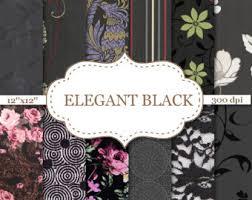 dark floral wallpaper etsy