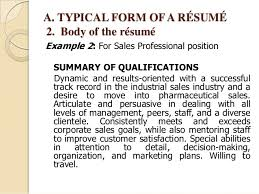 Resume Synopsis Sample by How To Write A Resume Summary 6 Thats Uxhandy Com