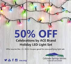 Christmas Lights Colorado Springs Turn In Your Old Christmas Lights For A Discount On New Energy