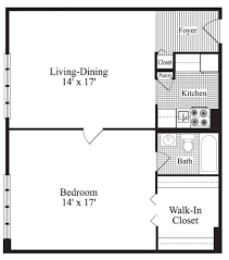 simple one bedroom house plans one bedroom floor plans buybrinkhomes com