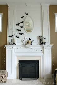Halloween House Ideas Decorating Best 25 Halloween Mantel Ideas On Pinterest Spooky Halloween