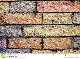 Brick Walls by Decorative Brick Wall 70 U0027s Hearth Royalty Free Stock Image