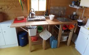 Indoor Kitchen Outdoor Indoor Kitchen For Garden Shed 5 Steps With Pictures