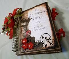 creative cafe u0027 a dickens christmas carol mini album and junk journal