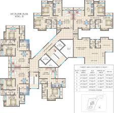 100 west wing floor plan hiranandani zen powai aria casino