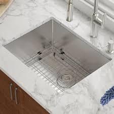 undermount kitchen sink undermount kitchen sinks you ll love wayfair