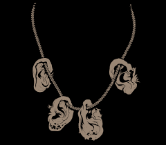 ear necklace daryl s ear necklace tshirtvortex