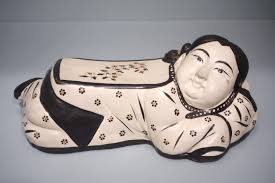 file pillow in the form of a reclining northern china jin
