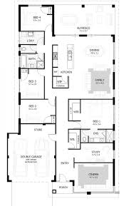 duplex plans that look like single family one story house basic
