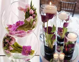 deko blumen hochzeit tisch blumendeko hochzeit mit tulpen coole tischdeko ideen mit