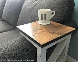 Diy Sofa Table Easy Diy Sofa Tables S Handmade