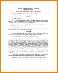 articles of partnership template eliolera com