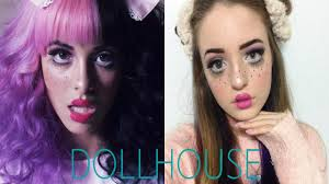 How To Do Doll Makeup For Halloween Melanie Martinez Dollhouse Inspired Makeup Tutorial Youtube