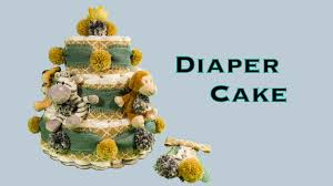 diaper cake u0026 corsage baby boy shower gift diy how to make