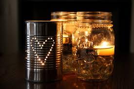 Mason Jar Ideas For Weddings Wedding Centerpieces With Candles Put Inside Mason Jarswedwebtalks
