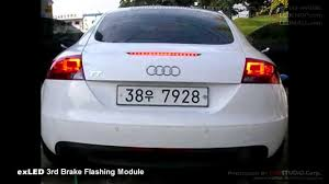 audi brake light exled 3rd brake module install on audi tt and hyundai