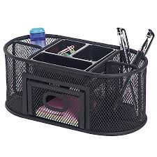 Mesh Desk Organizer Desk Organizer Collections At Office Depot Officemax