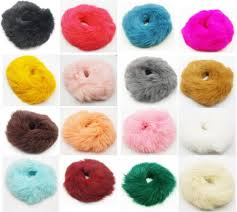 hair bobble 2018 real genuine rabbit fur hair band hair bobble hair