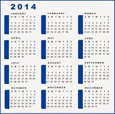 printable 2014 calendar by month printable calendar 2014 blank