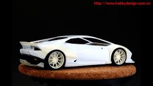 Lamborghini Huracan Wide Body - 124 lb work lamborghini huracan for aoshima huracan models resin