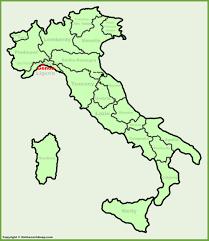 San Marino Italy Map by Genoa Location On The Italy Map