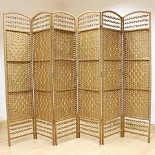 Wicker Room Divider Made Wicker Room Divider Screen 6 Panel Room