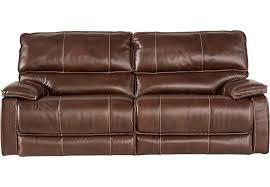 Cindy Crawford Home Salina Brown Power Reclining Sofa Reclining
