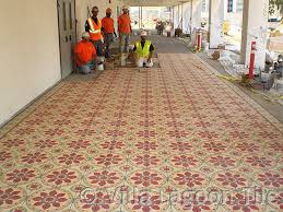 cement tile for large and commercial projects villa lagoon tile