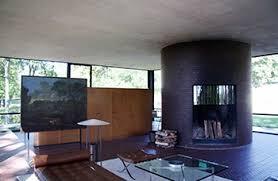 interior pictures philip johnson s glass house interior floor plan study com