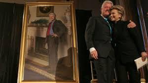 hidden blow job joke in bill clinton portrait youtube