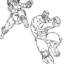 incredible hulk coloring pages hulk running coloring page super heroes coloring pages the