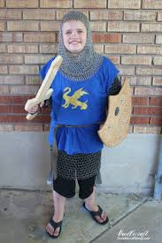 doodlecraft diy knight in shining armor halloween costume