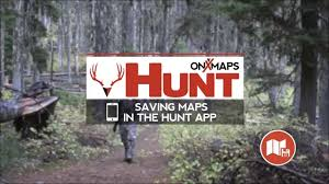 Hunting Gps Maps Saving Maps In The Hunt App By Onxmaps Youtube