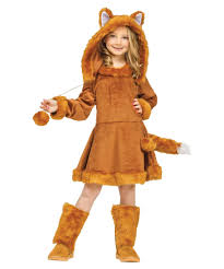 sweet fox kids wolf animal costume girls costumes