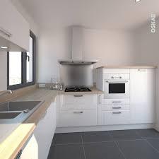 meubles cuisine design cuisine design blanche brillante style scandinave implantation
