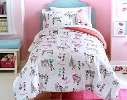 boutique girls bedding total fab paris u0026 eiffel tower themed bedding for less
