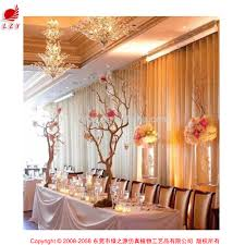 high quality pu indoor decorative artificial branch dry tree for