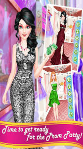 barbie prom hair salon makeover makeup and dressup game for s screenshot 4 new party dress