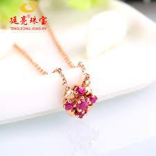 pink ruby necklace images Robira ol design starry natural burma ruby necklace 14k rose gold jpg