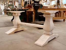 unfinished wood table legs hanson woodturning
